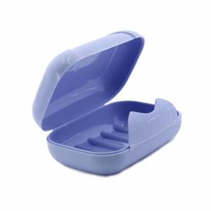 Urve Kilitli Kapaklı Sabunluk Mavi