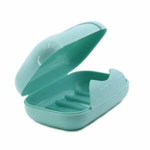 Urve Kilitli Kapaklı Sabunluk Yeşil