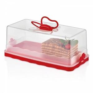 Piev Baton Kek Fanusu Kırmızı