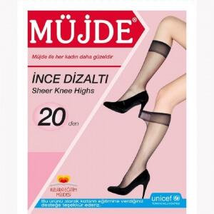 Müjde İnce Dizaltı 5 Li Kadın Çorap