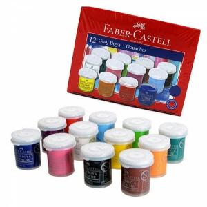 Faber Castell 12 Renk Guaj Boya