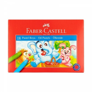 Faber Castell 18 Renk Pastel Boya