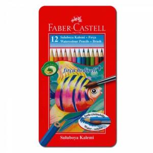 Faber Castell 12 Sulu Boya Kalemi