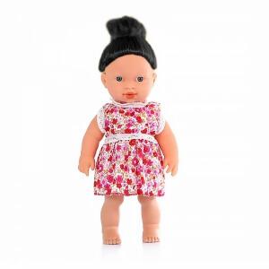 Piev Siyah Saçlı Sesli Nazlı Bebek