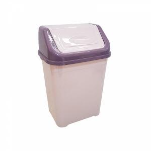 Piev Mor Pudra Çöp Kovası 5 LT