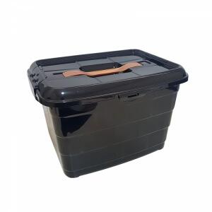 Piev Siyah Tetris Kulplu Taşıma Kabı 14 LT