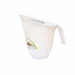 Piev Beyaz Saplı Pirinç Süzgeci 2,5 Lt