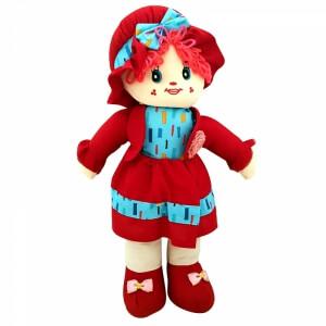 Piev Bez Kırmızı Elbiseli Bebek