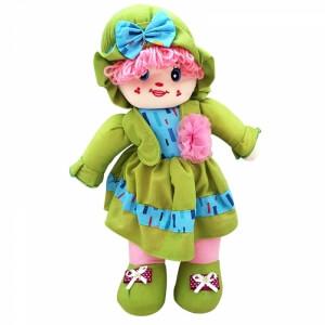 Piev Bez Yeşil Elbiseli Bebek