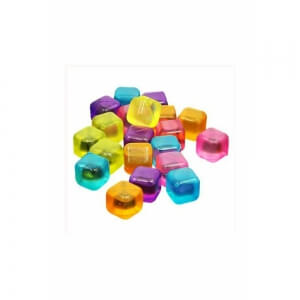 Renkli Silikon Tükenmeyen Buz Küpleri 12 Li