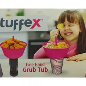 Tuffex 2 si Birarada Bardak Çerezlik Pembe