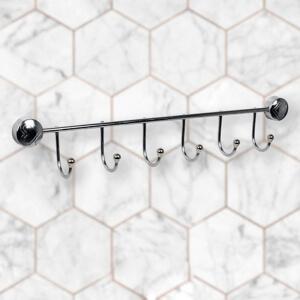 Delux Kanca Banyo Askısı 6 Lı
