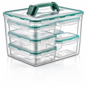 Plastart Fresh Box Kilitli Saklama Kabı 8 Parça